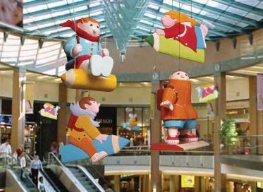 商场圣诞节美陈装饰方案